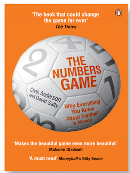 The Numbers Game by Chris Anderson and David Sally