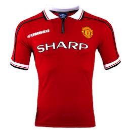 Manchester United Shirt 1999