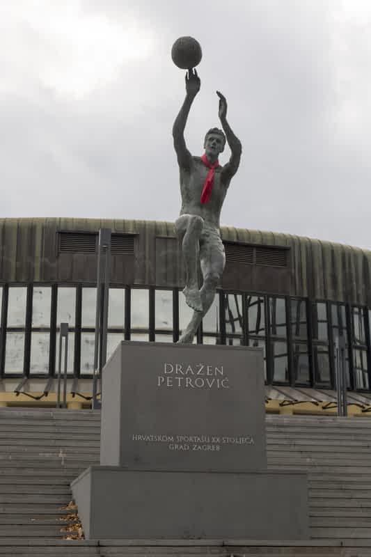 drazen petrovic statue