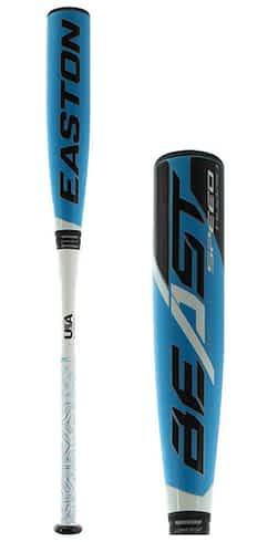Bat Pack 2019 Easton Beast Speed Hybrid -10 and 2019 Louisville Slugger Select 719 -10 USA Baseball Bats