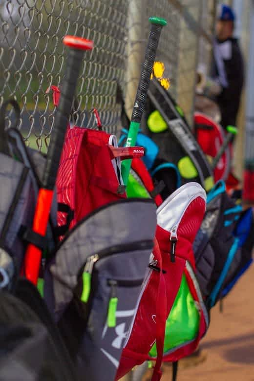 best youth baseball bats bags