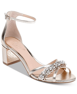 Giona II Sandal from the Jewel Collection by Badgley Mischka