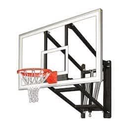 adjustable wall mount basketball hoop First Team WallMonster Arena