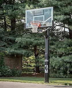 Spalding H-Frame in ground basketball hoop review