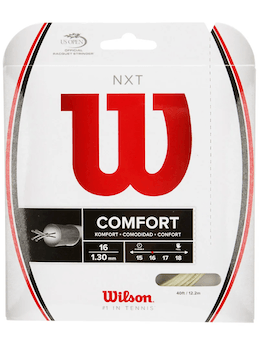 Wilson NXT best tennis string for topstring and control