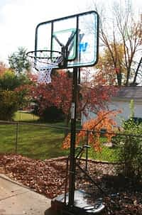 cheap portable basketball hoop