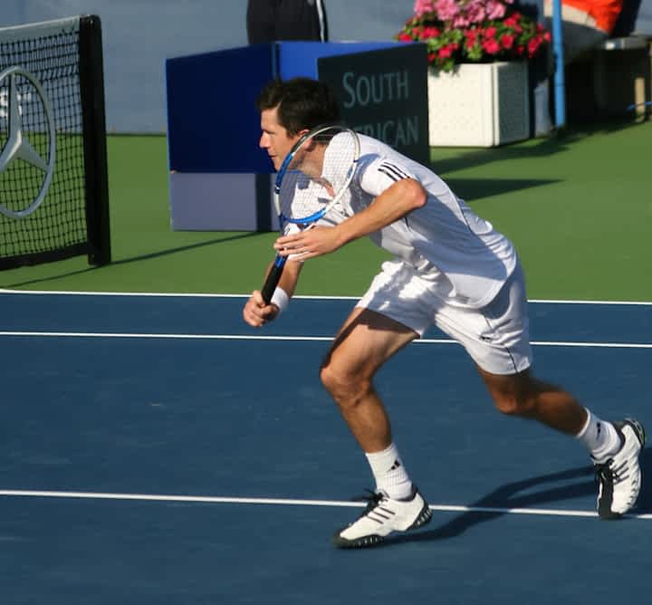 What is the tennis volley and how is it executed