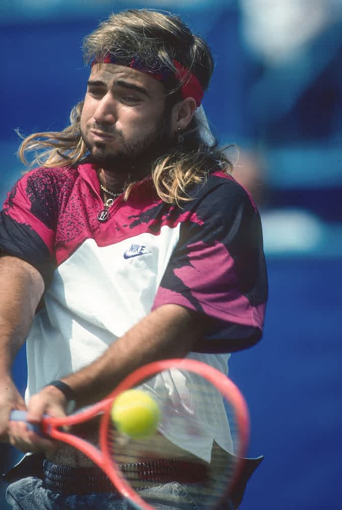 What to wear to play tennis Andre Agassi