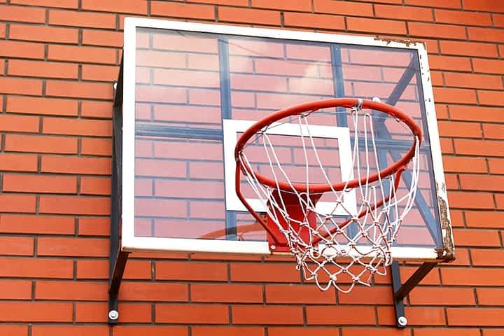 wall mounted hoop