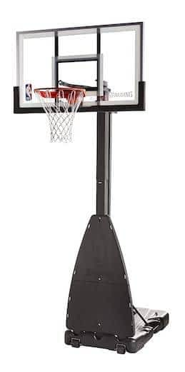 Spalding Pro Tek 54 Inch top rated portable basketball hoops