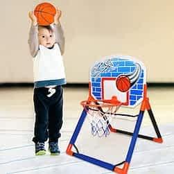 baby basketball hoop King Sport Floor To Door Basketball Set