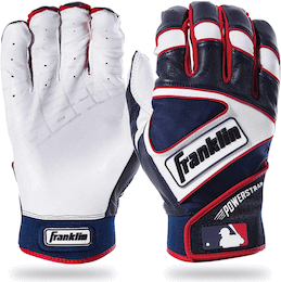 Franklin Sports MLB Powerstrap Batting Gloves