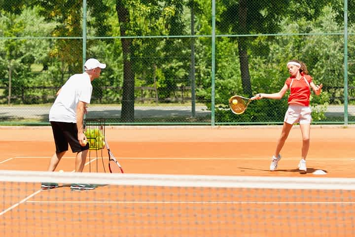 When to start tennis lessons?