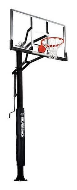 "Silverback 60"" In-Ground inground basketball hoop reviews"