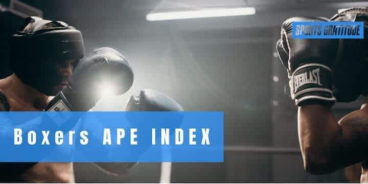 Boxers Height And Reach APE Index