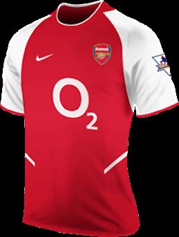 Arsenal Shirt 2003/04 Season