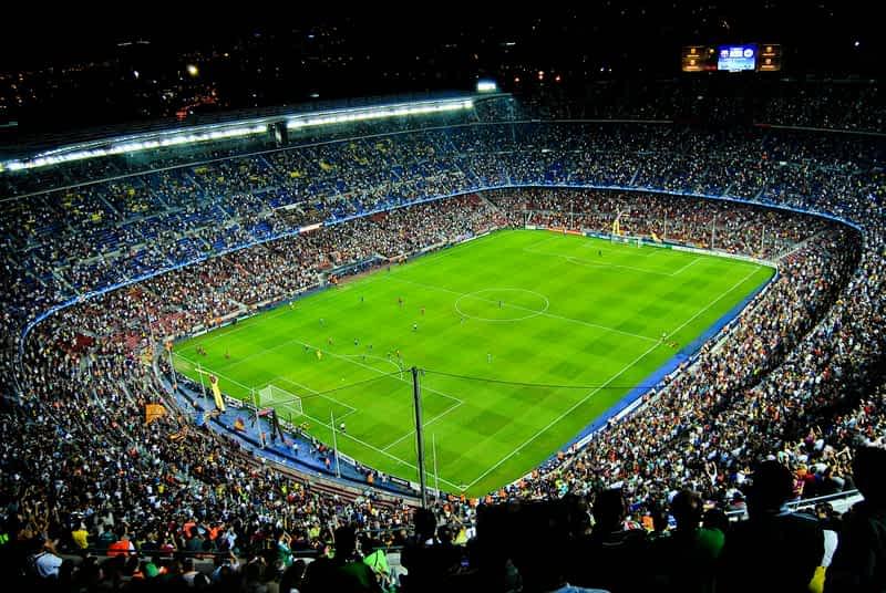 Camp nou Barcelona Spain