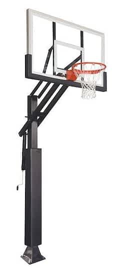 best in ground basketball hoop Ironclad Sports Game Changer CG55-LG