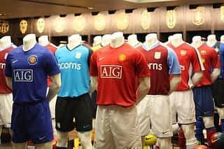 best football soccer shirts