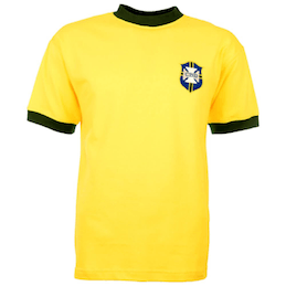 Brazil Football Shirt 1970