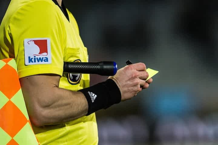 What is a Yellow Card in Soccer