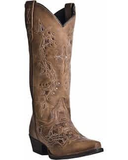 Laredo Women's Cross Point Western Boots what are the best shoes to wear for line dancing